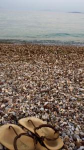 Strand auf Korfu, 2017