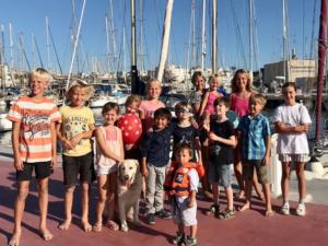 Gruppenfoto der Kinder