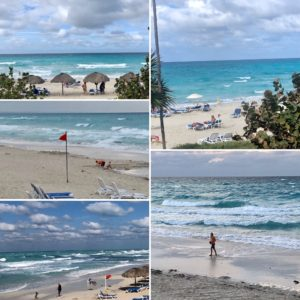Bildcollage Strand und Meer, Varadero
