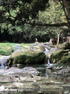 Wasserfälle in Las Terazzas