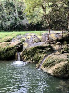 Mini-Wasserfälle in Las Terazzas