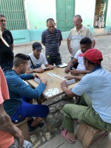 Domino-Spieler in Trinidad