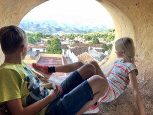 Ausblick vom Kirchturm in Trinidad