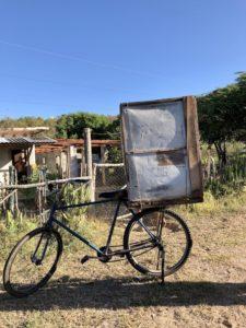 Bäckerei-Fahrrad in Kuba