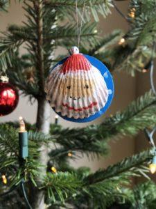Weihnachtsmann-Muschel
