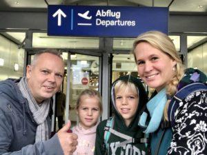 Wir sind am Flughafen Düsseldorf