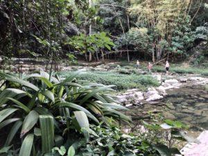 Spaziergang in den Wasserfällen von Las Terazzas