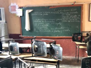 Klassenraum in Trinidad