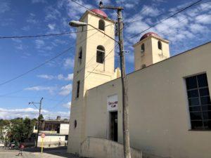Kirche, die die Kubahilfe unterstützt