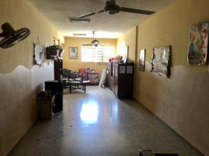 In den Räumen der Kubahilfe. Spielraum für Kinder