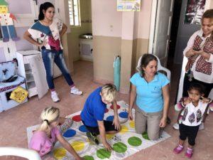 Spenden werden ausprobiert - hier Twister
