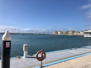 Leerer Hafen in Varadero