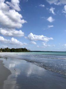 Am Strand in Playa Larga