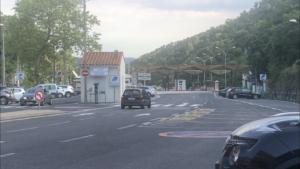 Grenzposten in Le Pertuis