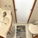 BATHROOM starboard with separate shower room